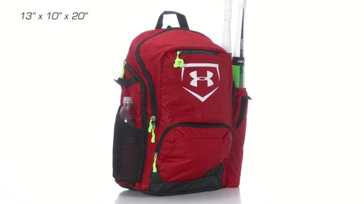 under armour baseball bat bag backpack