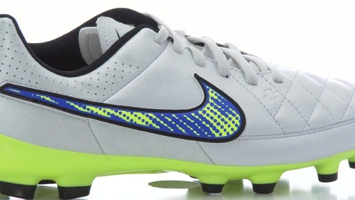 nike shox camée formateurs de danse - NIKE Youth Tiempo Genio FG Firm Ground Leather Soccer Cleats ...