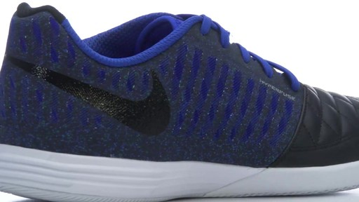... nike mens lunar gato ii indoor soccer shoe image 3 from the video ...