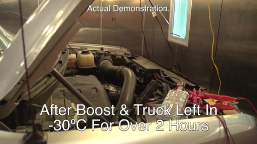Extreme Temperature Test: NOCO Genius Boost, Lithium Ion Jump Starter - image 6 from the video