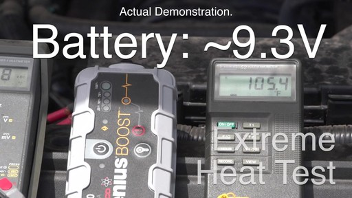 Extreme Temperature Test: NOCO Genius Boost, Lithium Ion Jump Starter - image 7 from the video