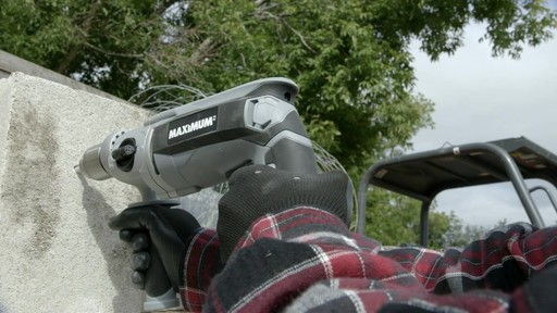 MAXIMUM Hammer Drill - image 6 from the video