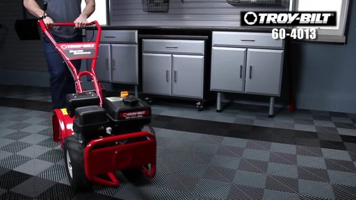 Troy-Bilt Rear Tine Tiller, 208 CC - image 10 from the video