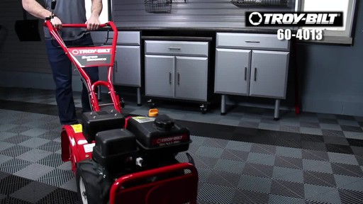 Troy-Bilt Rear Tine Tiller, 208 CC - image 3 from the video