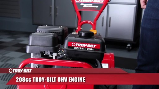 Troy-Bilt Rear Tine Tiller, 208 CC - image 4 from the video