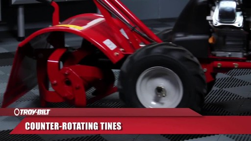 Troy-Bilt Rear Tine Tiller, 208 CC - image 5 from the video