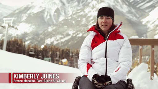 Para Skier Kimberly Joines describes her journey to the Paralympics - image 3 from the video