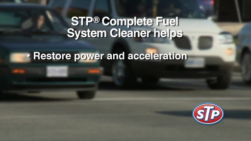 STP Complete Fuel System Cleaner - image 7 from the video