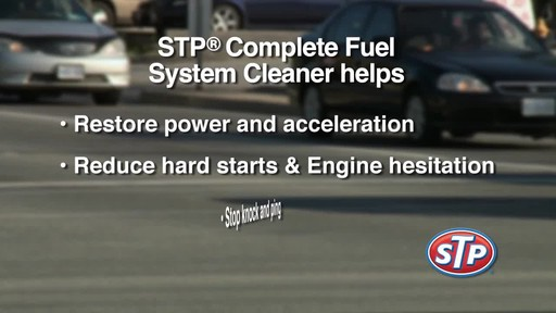 STP Complete Fuel System Cleaner - image 8 from the video