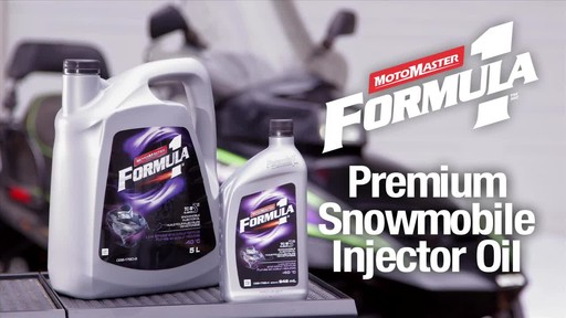 MotoMaster F1 snowmobile Injector oil - image 1 from the video