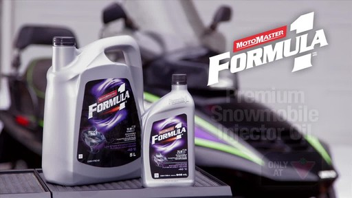 MotoMaster F1 snowmobile Injector oil - image 10 from the video