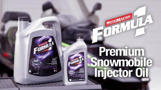 MotoMaster F1 snowmobile Injector oil - image 2 from the video