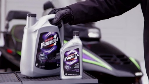 MotoMaster F1 snowmobile Injector oil - image 9 from the video