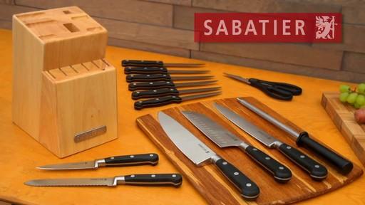 Sabatier German Steel Cutlery Set 14 Pc 187 English