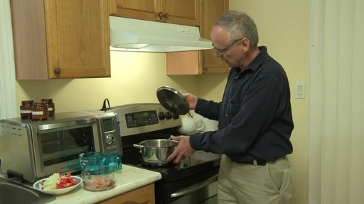 Lagostina 5-Ply Copper-Clad Cookware Set - Mark's Testimonial - image 2 from the video