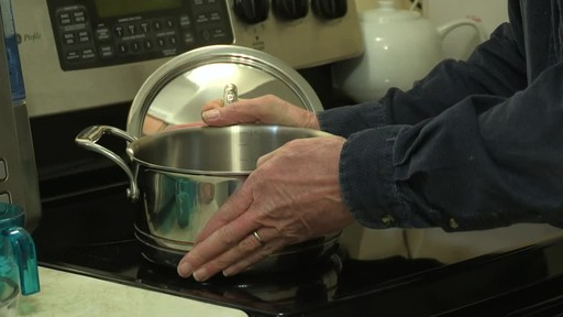 Lagostina 5-Ply Copper-Clad Cookware Set - Mark's Testimonial - image 3 from the video