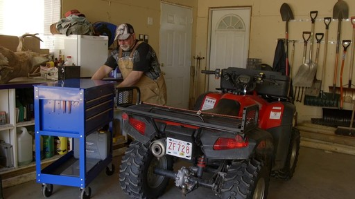 Mastercraft 4-Drawer Mechanics Cart - Lawrence's Testimonial - image 1 from the video
