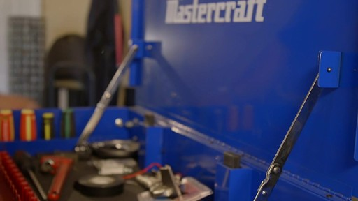 Mastercraft 4-Drawer Mechanics Cart - Lawrence's Testimonial - image 2 from the video