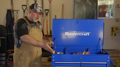Mastercraft 4-Drawer Mechanics Cart - Lawrence's Testimonial - image 4 from the video