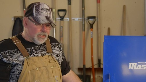 Mastercraft 4-Drawer Mechanics Cart - Lawrence's Testimonial - image 6 from the video