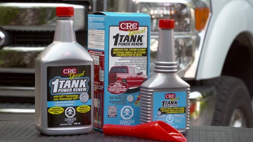 CRC 1-Tank Power Renew for Diesel - image 9 from the video