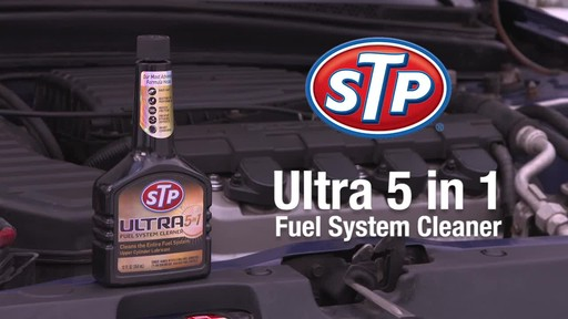 STP Ultra 5 in 1 Fuel System Cleaner - image 10 from the video