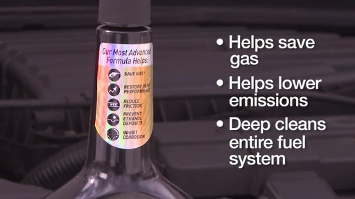 STP Ultra 5 in 1 Fuel System Cleaner - image 4 from the video