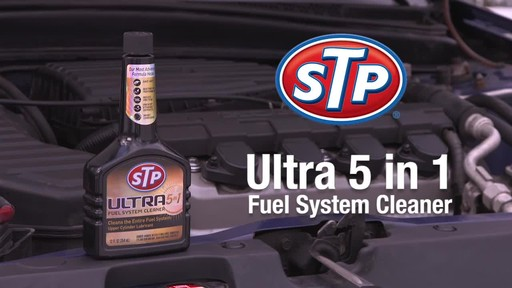 STP Ultra 5 in 1 Fuel System Cleaner - image 9 from the video