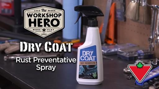 Workshop Hero Dry Coat Rust Preventative Spray  - image 1 from the video
