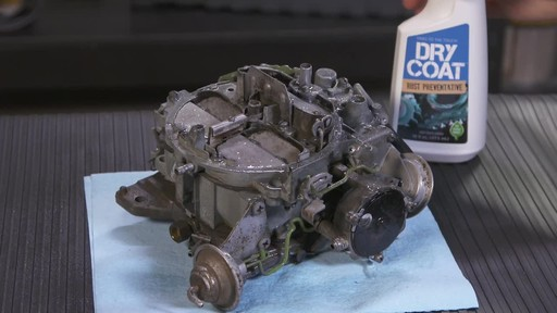Workshop Hero Dry Coat Rust Preventative Spray  - image 8 from the video