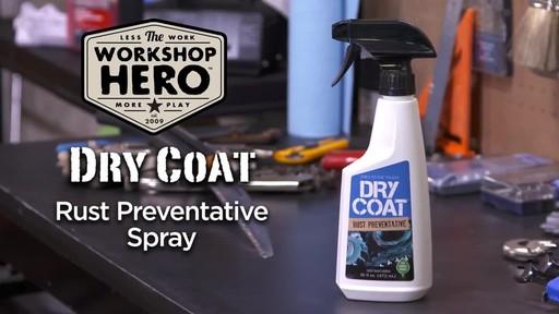 Workshop Hero Dry Coat Rust Preventative Spray  - image 9 from the video