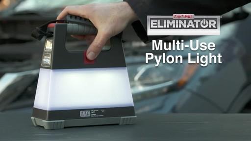MotoMaster Eliminator Multi-Use Pylon Light - image 1 from the video