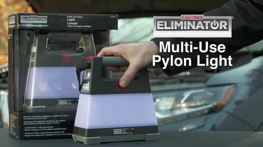MotoMaster Eliminator Multi-Use Pylon Light - image 10 from the video
