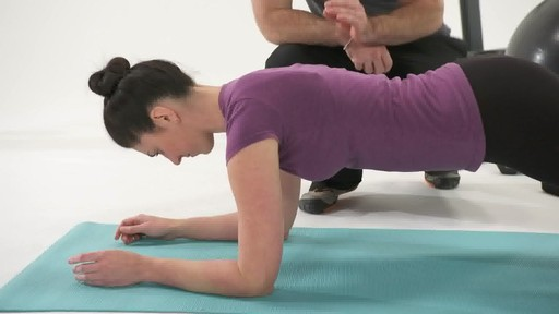 Best Plank Exercise Part 1 - Fitness Tips from Canadian Tire - image 5 from the video