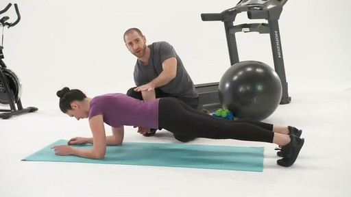 Best Plank Exercise Part 1 - Fitness Tips from Canadian Tire - image 8 from the video