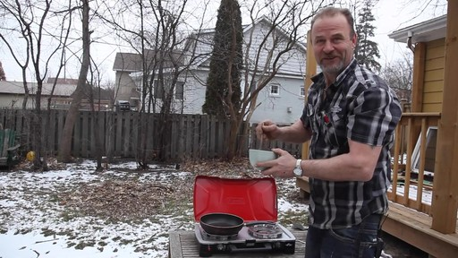 Coleman FyreSergeant 2-Burner Grill Stove - Ron's Testimonial - image 3 from the video