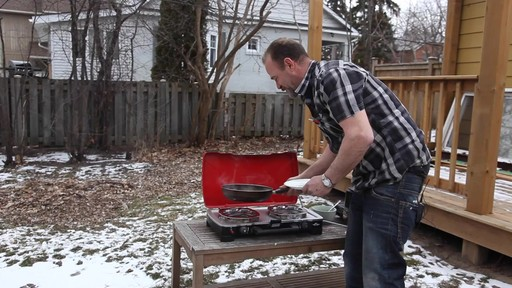Coleman FyreSergeant 2-Burner Grill Stove - Ron's Testimonial - image 9 from the video