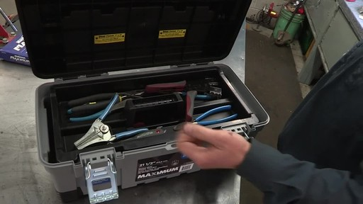 MAXIMUM Heavy-Duty Plastic Toolbox - Don's Testimonial - image 1 from the video