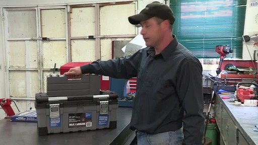 MAXIMUM Heavy-Duty Plastic Toolbox - Don's Testimonial - image 3 from the video