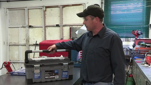 MAXIMUM Heavy-Duty Plastic Toolbox - Don's Testimonial - image 5 from the video