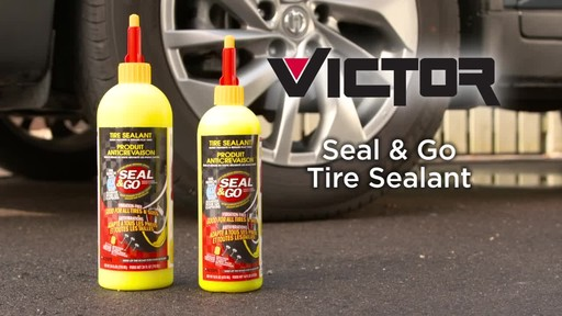 Victor Seal and Go Spray Inflator - image 1 from the video