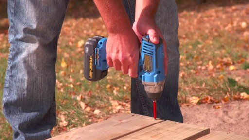 Mastercraft 20V Max 1/4-in Impact Driver - image 2 from the video