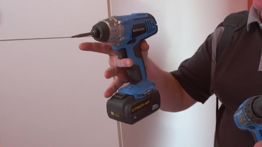 Mastercraft 20V Max 1/4-in Impact Driver - image 5 from the video