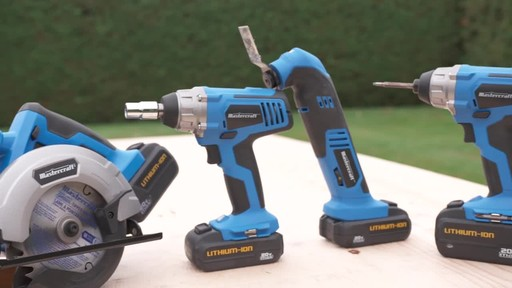 Mastercraft 20V Max 1/4-in Impact Driver - image 8 from the video