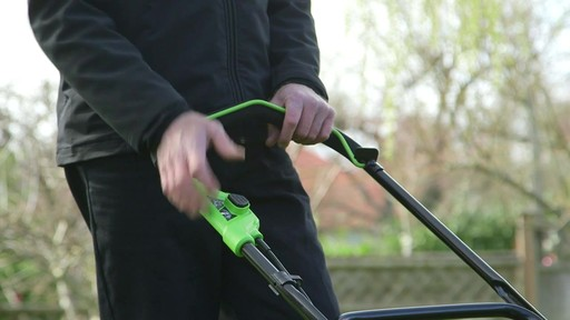 GreenWorks 40V Brushless Lawnmower - image 2 from the video