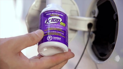 K100 Marine Diesel Fuel Stabilizer - image 3 from the video