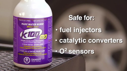 K100 Marine Diesel Fuel Stabilizer - image 8 from the video