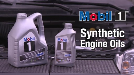 Mobil 1 Synthetic Motor Oil - image 1 from the video