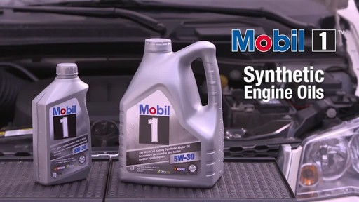 Mobil 1 Synthetic Motor Oil - image 10 from the video