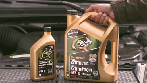 Quaker State Ultimate Durability Synthetic Motor Oil - image 8 from the video